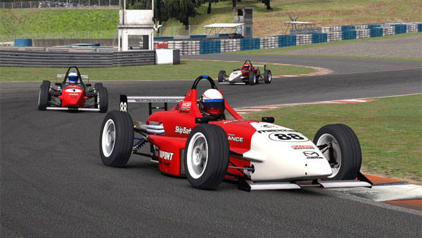 iRacing: Вторая тестовая гонка - Skip Barber @ Okayama International Circuit