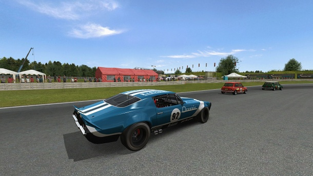 Race 07: Релиз дополнения Retro Pack