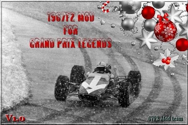 Grand Prix Legends: Релиз мода GPL 1967 Formula 2