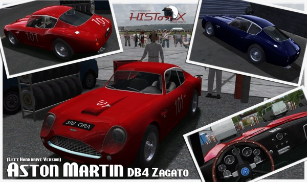 rFactor: Релиз мода Historic GT & Touring Car 1.9