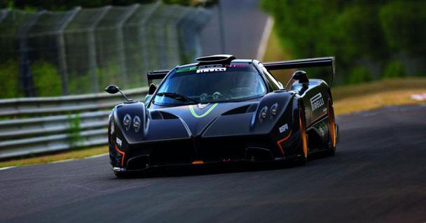 GTR 3: Получена лицензия на спорткар Pagani Zonda R