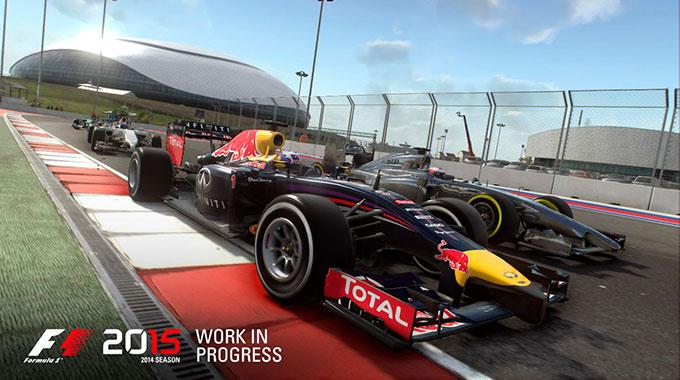 Анонс игры F1 2015 от Codemasters