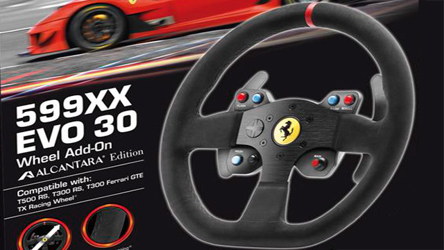 Thrustmaster 599XX EVO 30 Wheel Alcantara Edition