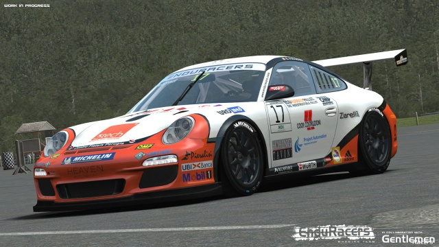 rFactor 2: Игровые изображения Enduracers Flat6 Series