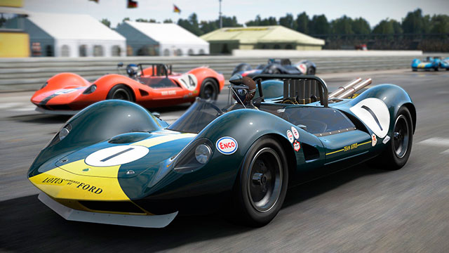 Project Cars: Дополнение Classic Lotus Track Expansion