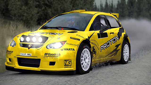 Richard Burns Rally: релиз автомобиля Proton Satria S2000