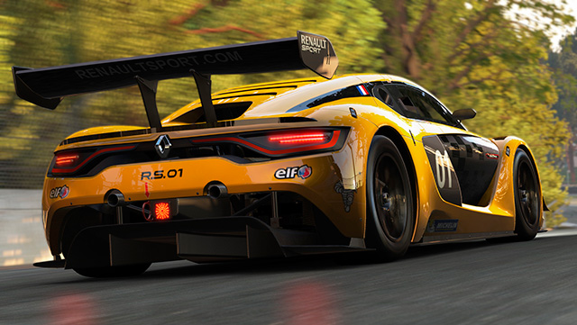 Project Cars: Renault Sport Car Pack - Renault Sport R.S. 01 (2015)