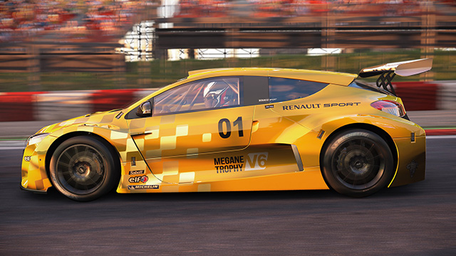 Project Cars: Renault Sport Car Pack - Renault Megane Trophy V6 (2009)