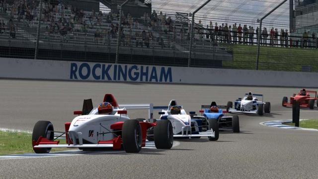 LFS: Выпуск трассы Rockingham Motor Speedway