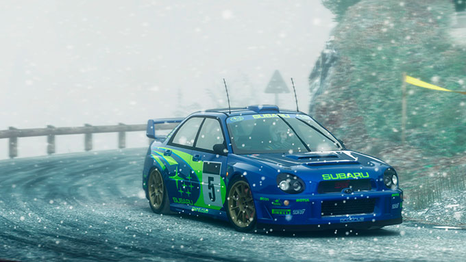 DiRT Rally: Subaru Impreza 2001
