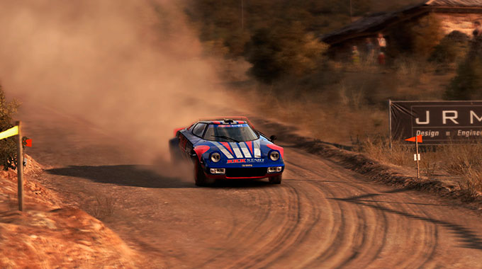 DiRT Rally: Lancia Stratos