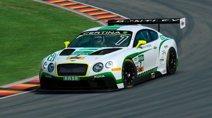 R3E: Анонс автомобилей Bentley GT3 и Formula RR Junior