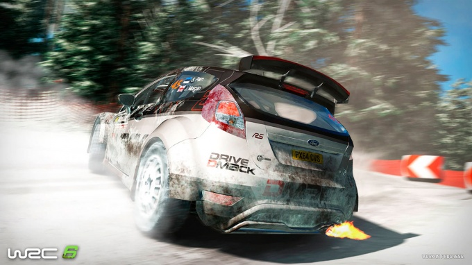 Анонс WRC 6: FIA World Rally Championship