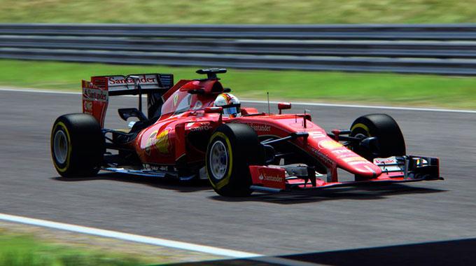 Assetto Corsa: Анонс Ferrari SF15-T и RedBull Racing