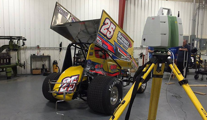 410 Dirt Sprint Car