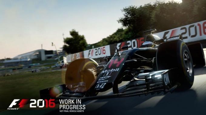 В F1 2016 игрок сможет создать свою легенду