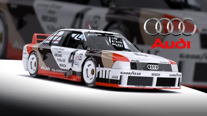 iRacing: Выпуск автомобиля Audi 90 IMSA GTO
