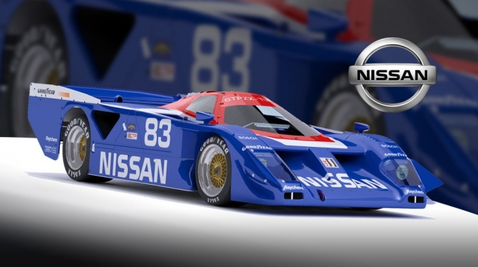 iRacing: Выпуск автомобиля Nissan GTP ZX Turbo
