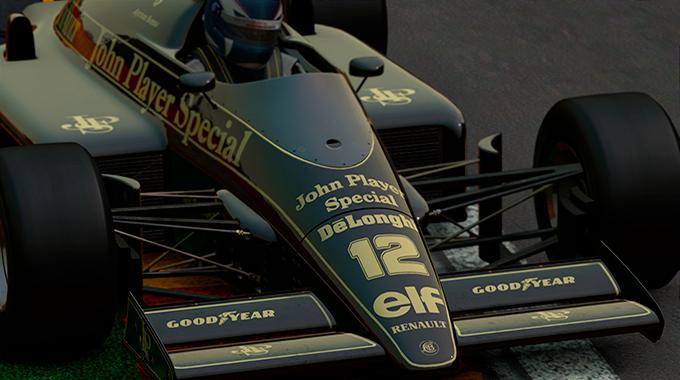 pCARS: Состязание с Ником Хэмильтоном - Lotus 98T
