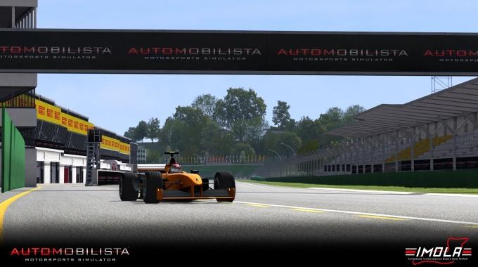 Automobilista: Игровое видео трассы Имола