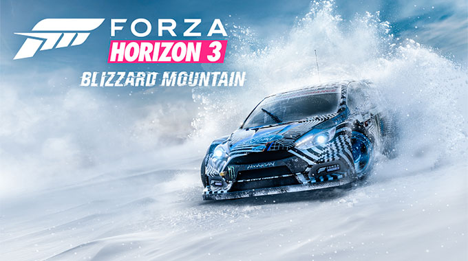 Анонс дополнения Blizzard Mountain для Forza Horizon 3