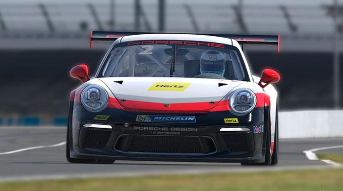 iRacing: Выпуск автомобиля Porsche 911 GT3 Cup