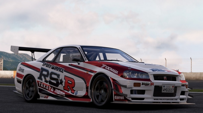 Project CARS 2: Анонс четырех автомобилей Nissan GT-R