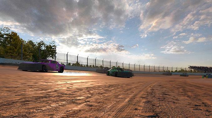 iRacing:  Выпуск грязевых гонок