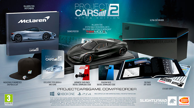 Project CARS 2: Старт предварительных заказов