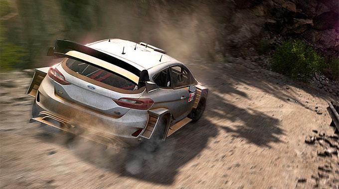 Анонс раллийного симулятора WRC 8