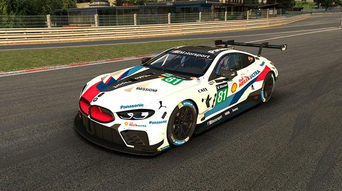 iRacing: Анонс автомобиля BMW M8 GTE