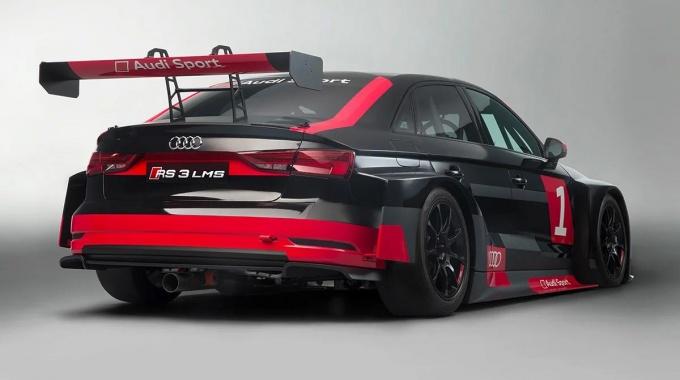 iRacing: Анонс автомобиля Audi RS3 LMS TCR