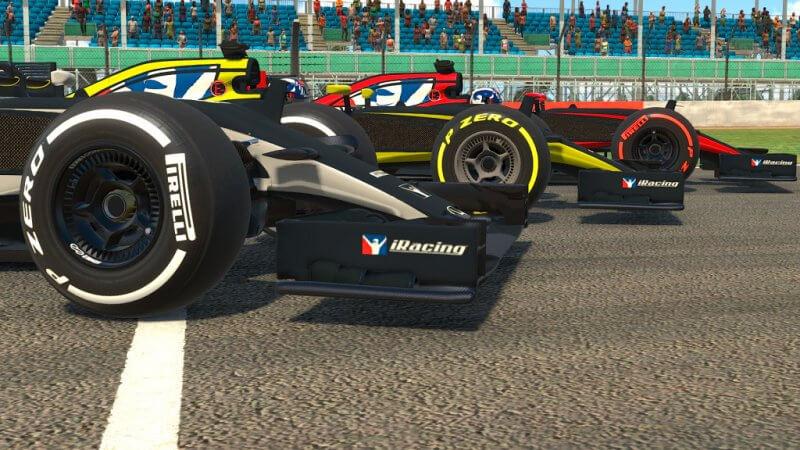 iRacing: Различные типы шин для McLaren MP4-30